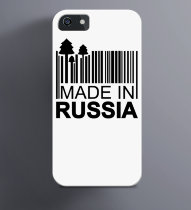 Чехол на iPhone Made in Russia