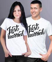 Парные футболки Jast Married