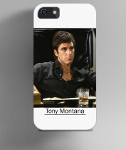 Чехол на iPhone Tony Montana colour photo