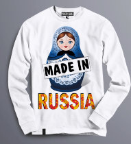 Свитшот с матрешкой Made in Russia