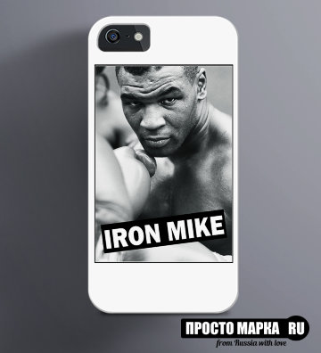 Чехол на iPhone Iron Mike